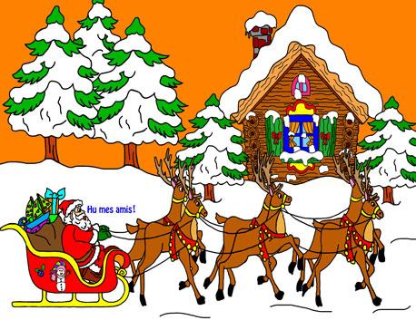 L'enfance du Père-Noël et de la Mère-Noël Arbres12