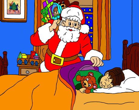 L'enfance du Père-Noël et de la Mère-Noël Leon-d11