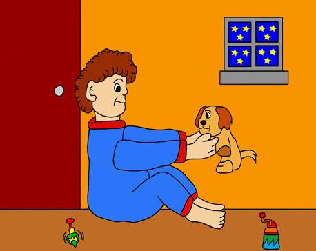 L'enfance du Père-Noël et de la Mère-Noël Leon-e11