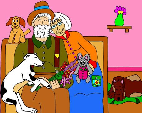 L'enfance du Père-Noël et de la Mère-Noël Les-an12