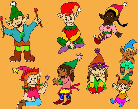 L'enfance du Père-Noël et de la Mère-Noël Les-lu12