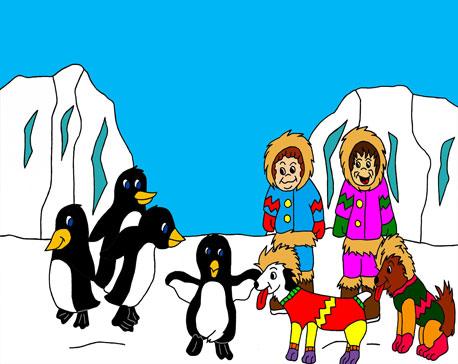 L'enfance du Père-Noël et de la Mère-Noël Les-pi11