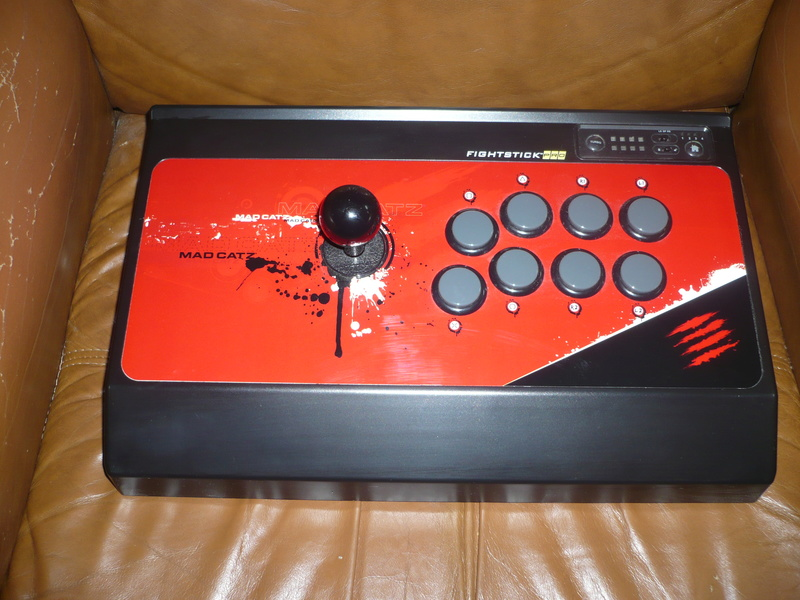 Stick arcade et fighting pad PS3 P1030714