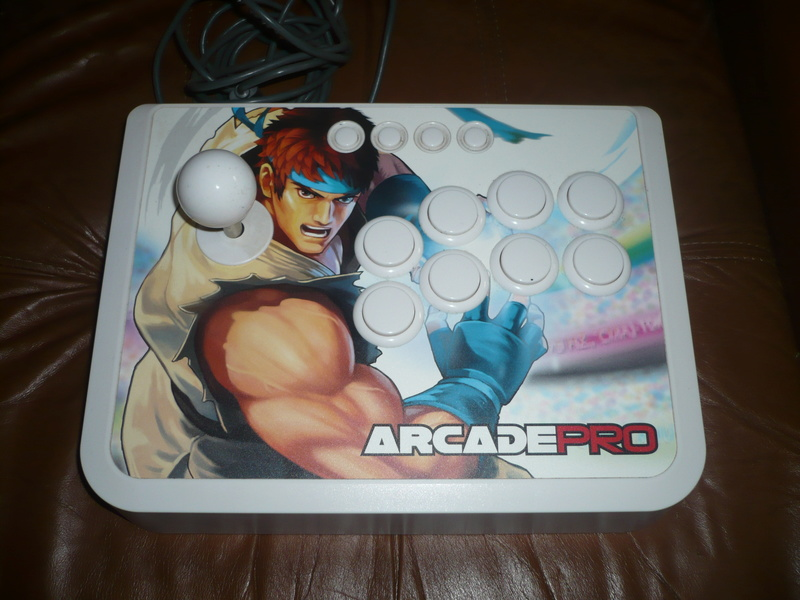 Stick arcade et fighting pad PS3 P1030715