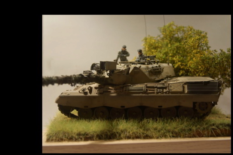 Leopard 1 A3 von Meng 1:35 Base_f13