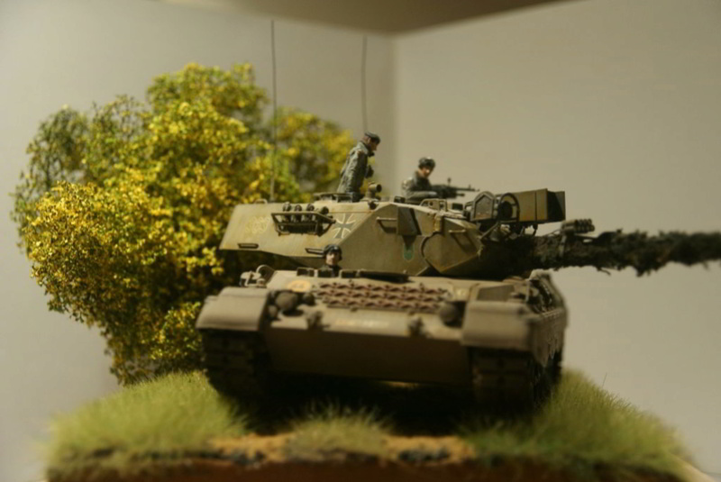 Leopard 1 A3 von Meng 1:35 Base_f14