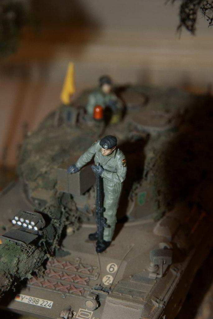 Leopard 1 A3 von Meng 1:35 Tamiya15