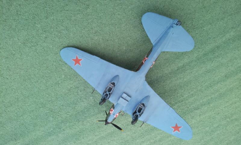 [ZTS Plastik] - Illiouchine Stormovic Il-2m3 2000-030