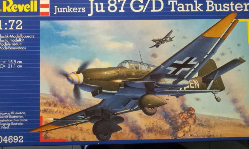 [Revell] - Junker Ju 87 G-D Tank Buster 2017-020