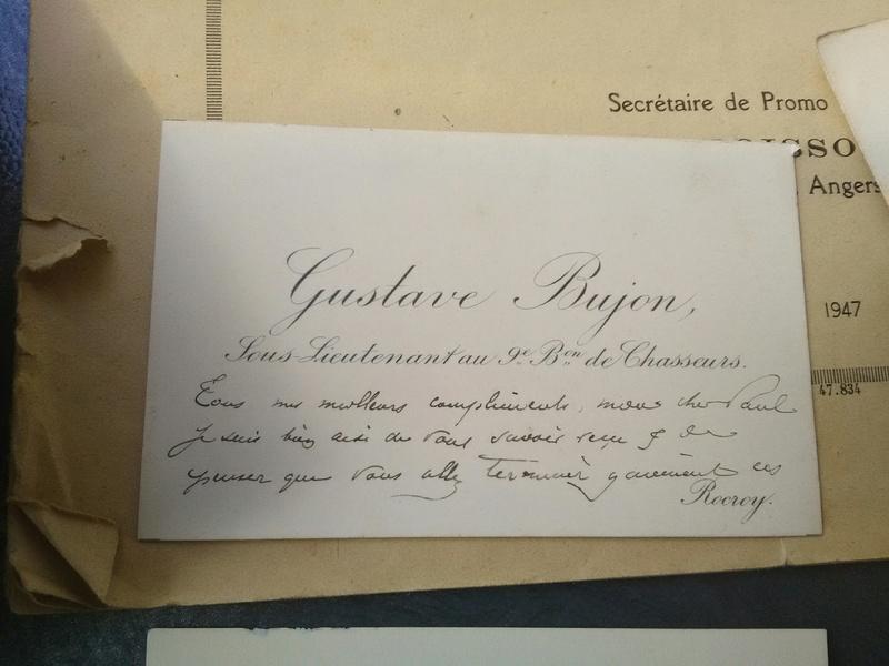 Brocante dominicale des Salins : du beau papier et une belle histoire surtout !  Img_2193