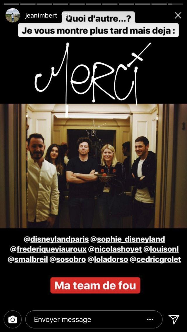 [Disneyland Hotel] Menu Petit Jean au Founder's Restaurant - par Jean Imbert Img_4725
