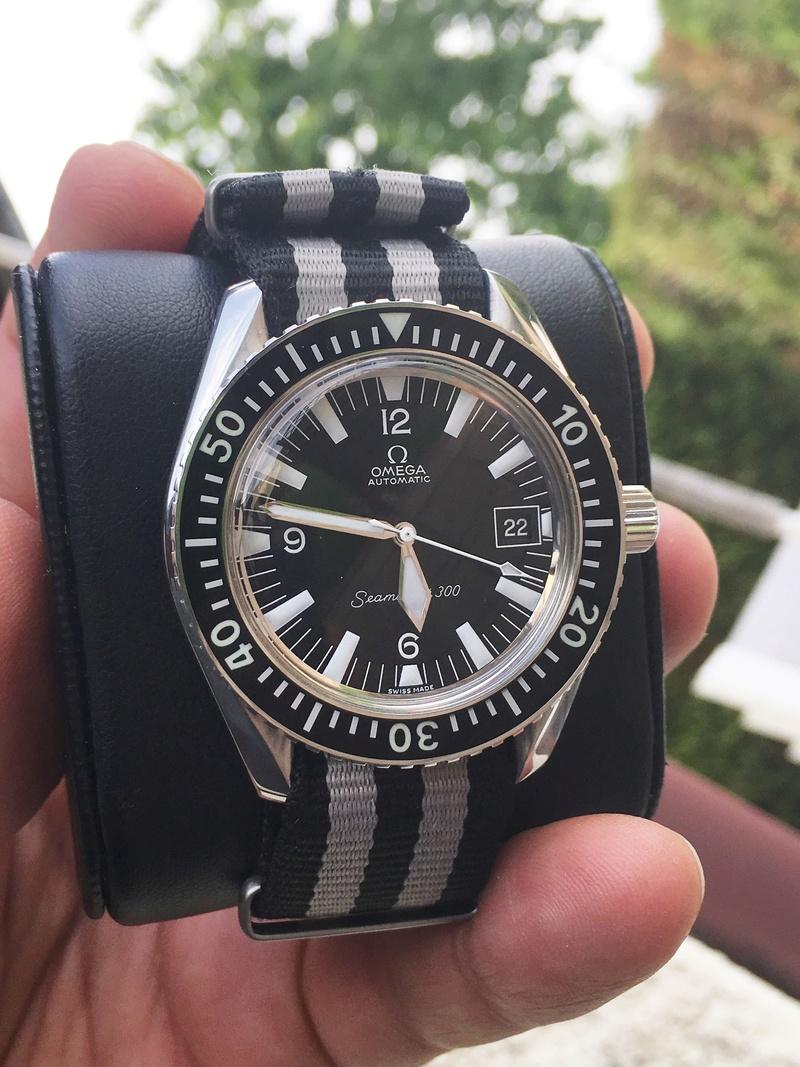 seamaster - [Baisse de prix][Vends] Omega Seamaster 300 type watchco Img_0811