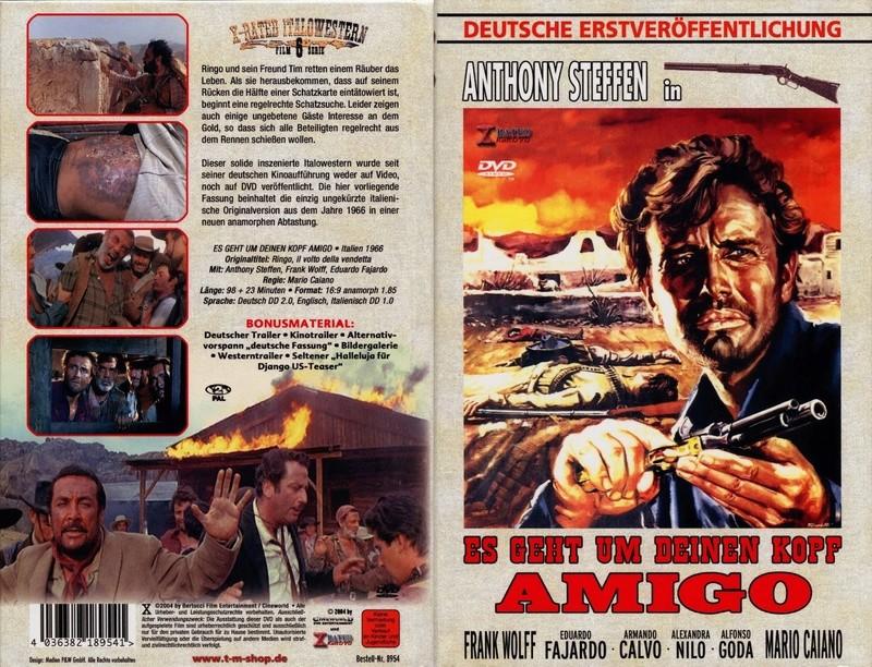 La vengeance de Ringo ( Ringo il volto della vendetta ) – 1966 – Mario CAIANO - Page 2 Dvdall10