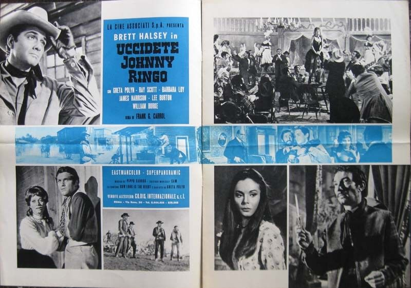 Tuez Johnny Ringo ( Uccidete Johnny Ringo ) – 1966 - Gianfranco BALDANELLO S-l16011
