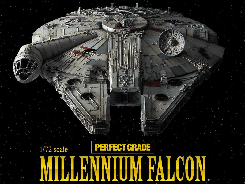 MILLENNIUM FALCON BANDAI PERFECT GRADE 1/72 20170610