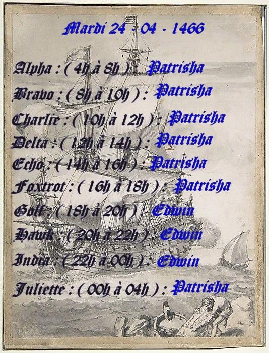 Planning journalier des Capitaines  Planni12
