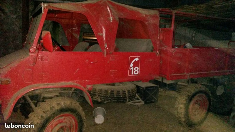 Unimog 404 Doka Cabrio D7627b10