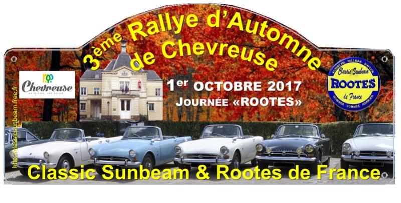 1er octobre 2017 rallye CS&RF en Vallée de Chevreuse Plaque10
