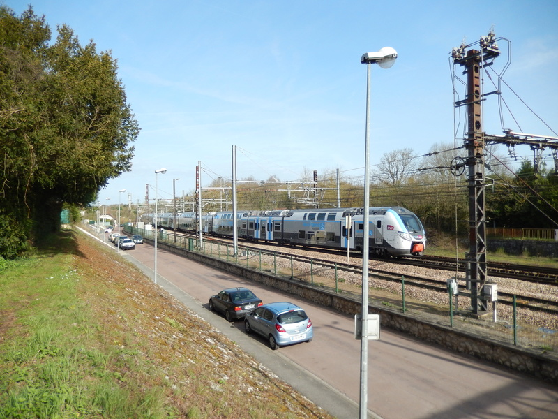 En gare de Moret- Veneux-les -Sablons avril 2018 Dscn8510