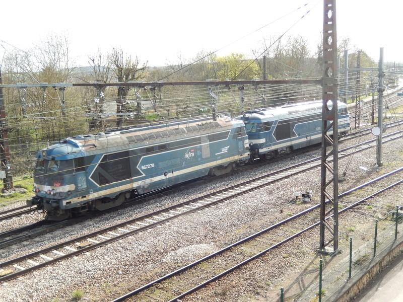 En gare de Moret- Veneux-les -Sablons avril 2018 Dscn8512