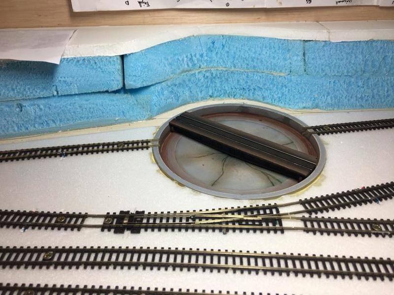 modification, peinture et patine pont tournant PECO N 22366710