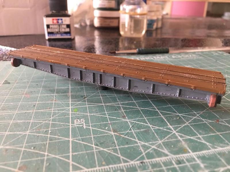 modification, peinture et patine pont tournant PECO N 22405910