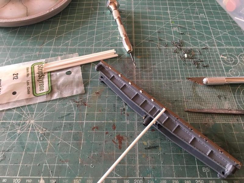 modification, peinture et patine pont tournant PECO N 22448110