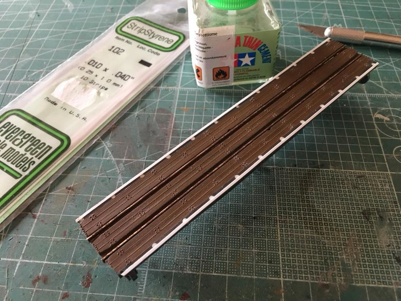 modification, peinture et patine pont tournant PECO N 22449710