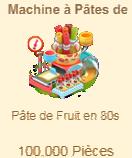 Machine à Pâtes de Fruit Sans_220