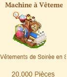 Machine à Vêtements de Soirée Sans_231