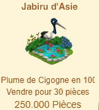 Jabiru d'Asie / Cigogne => Plume de Cigogne Sans_f10
