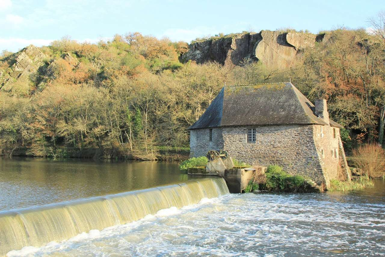 Mouin et Ecluse du Boël sur La Vilaine - Pont Réan ( 35 ) Img_4811