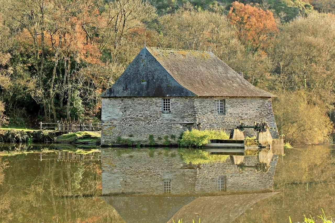 Mouin et Ecluse du Boël sur La Vilaine - Pont Réan ( 35 ) Img_4813