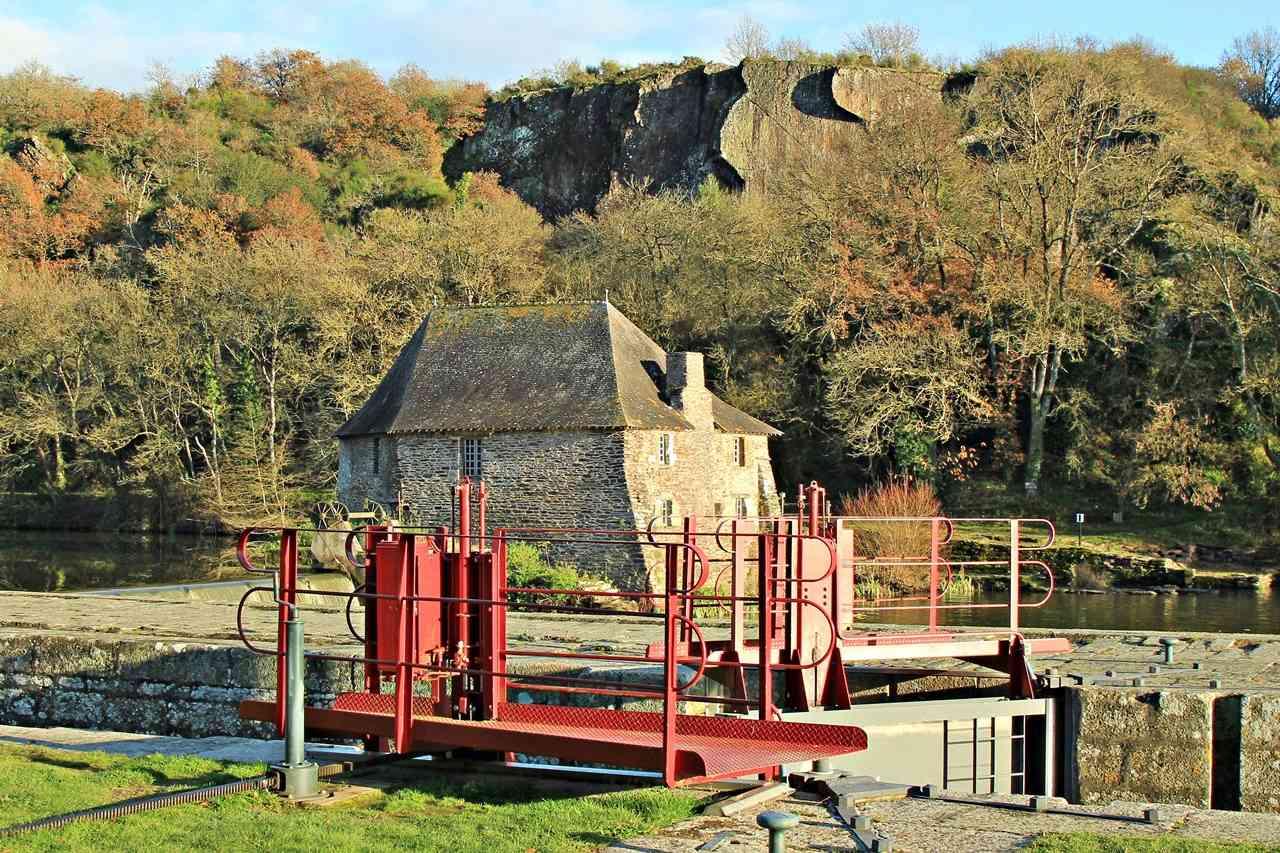 Mouin et Ecluse du Boël sur La Vilaine - Pont Réan ( 35 ) Img_4910