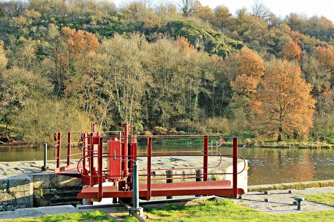 Mouin et Ecluse du Boël sur La Vilaine - Pont Réan ( 35 ) Img_4912