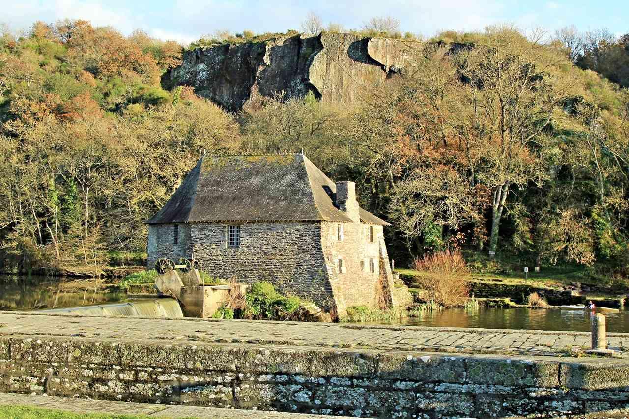 Mouin et Ecluse du Boël sur La Vilaine - Pont Réan ( 35 ) Img_4913