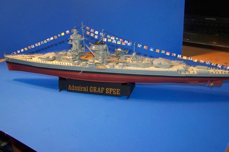 Graf Spee von Trumpeter in 1:350 102_4026