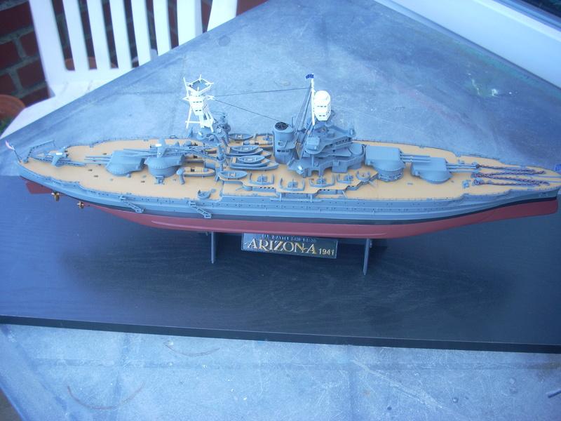 USS Arizona BB-39 (1941) in 1:350 von Hobby Boss Dscn0016