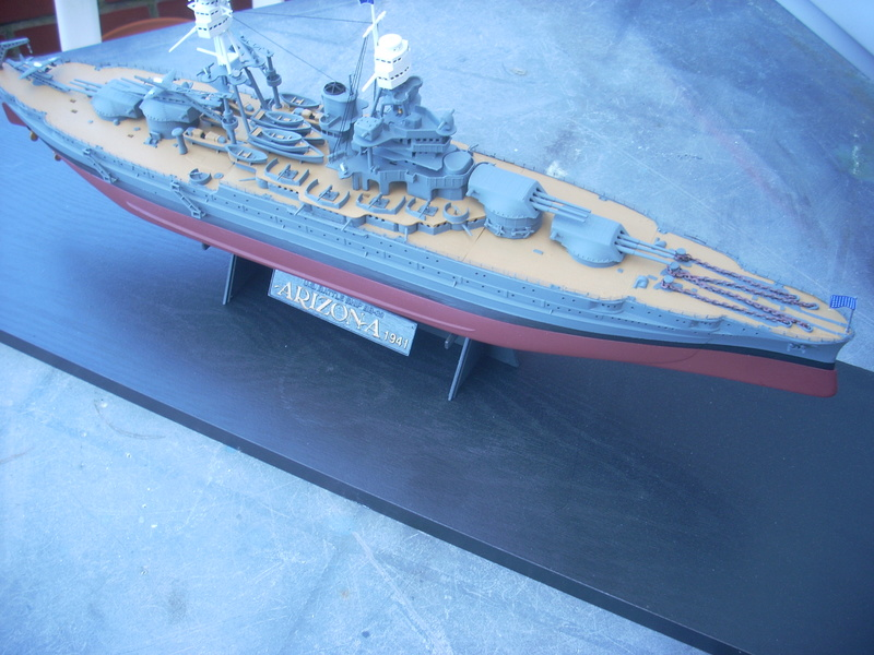 USS Arizona BB-39 (1941) in 1:350 von Hobby Boss Dscn0017