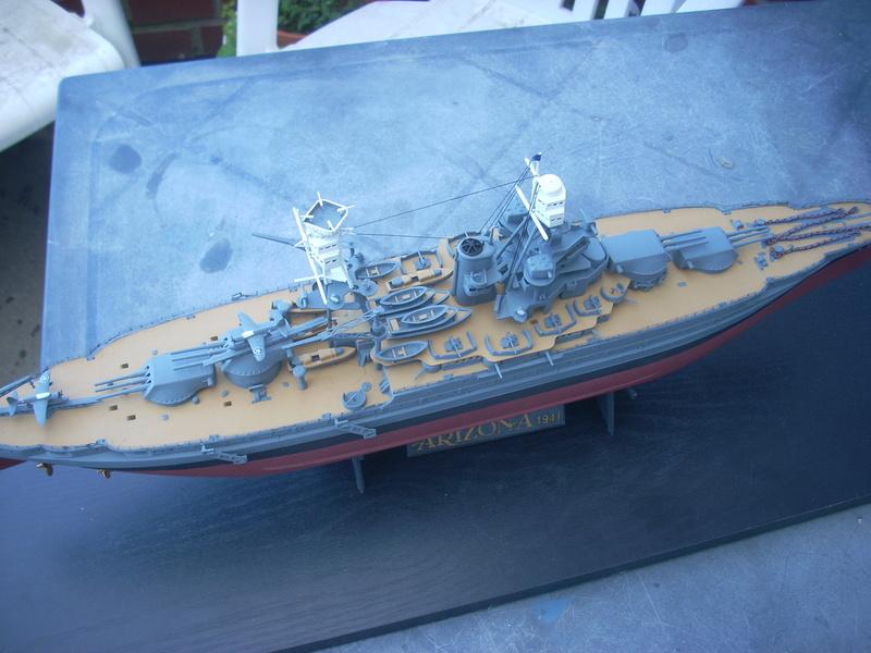 USS Arizona BB-39 (1941) in 1:350 von Hobby Boss Dscn0021