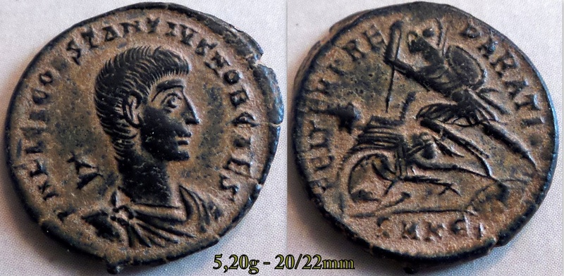 Les Constances II, ses Césars et ces opposants par Rayban35 - Page 19 Charg114