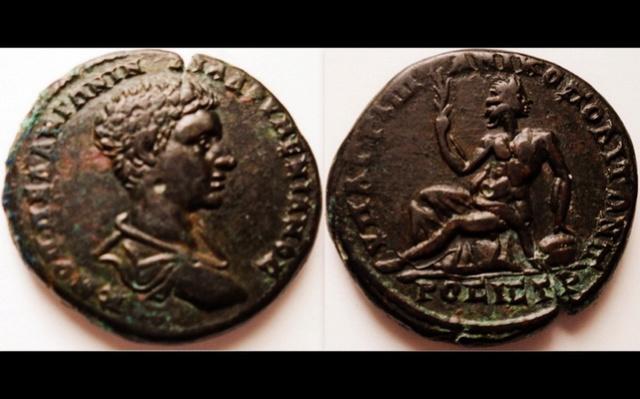 Bronze Diaduménien provinciale romaine Pictur16