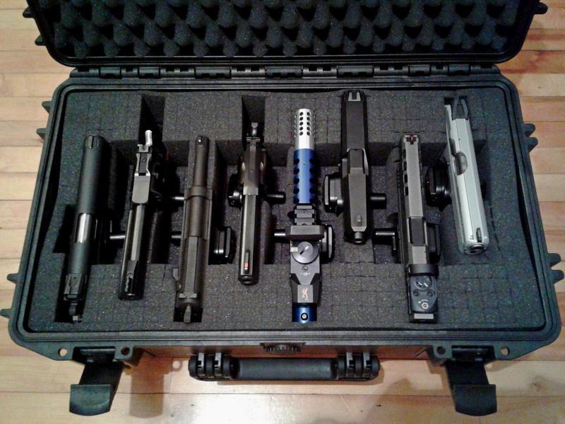 Case ou étui transport de pistolet Case-g11