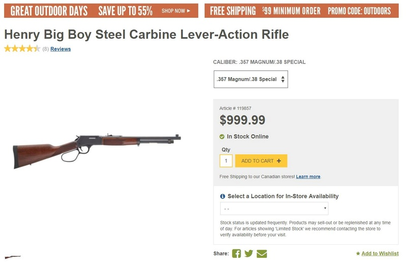 Lever action .357 mag? Henry10