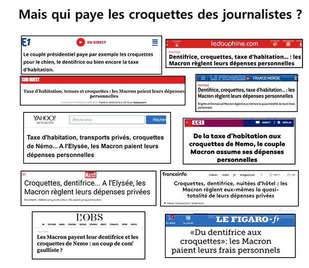 L'info « Les Macron payent leur taxe d'habitation » relayée par toute la presse est une Fake News Captur14
