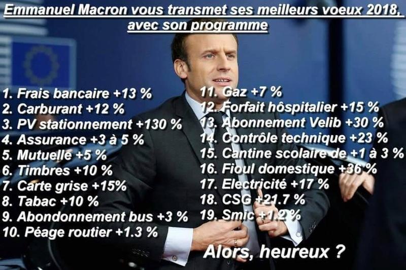 Depuis son élection, Macron a créé huit nouveaux impôts et taxes Img_5910