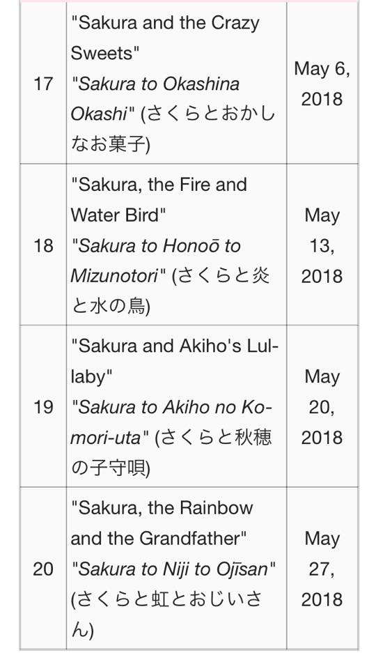 cardcaptor - Cardcaptor Sakura: Clear Card (spoilers) - Page 3 31713310
