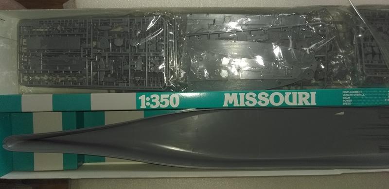 MISSOURI BB-63 1/350 et FLETCHER DD445 1/350 TAMIYA  VENDU Photo_12