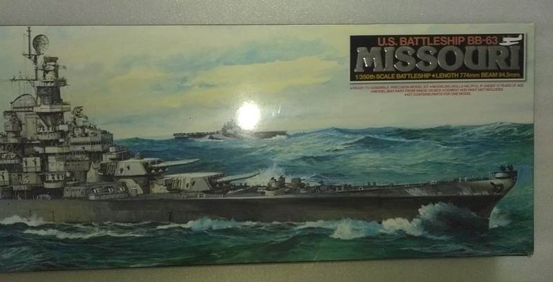 MISSOURI BB-63 1/350 et FLETCHER DD445 1/350 TAMIYA  VENDU Photo_13