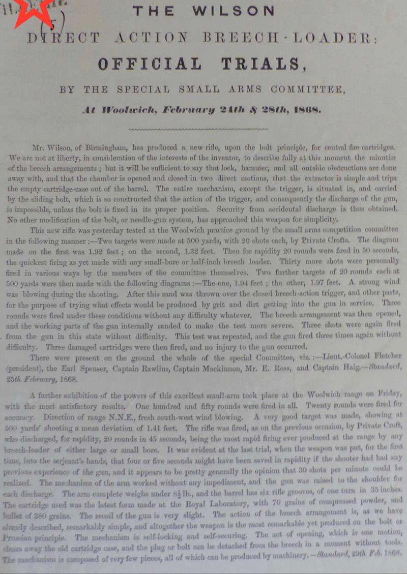 """wilson - Fusil Anglais """"Wilson & Cos"""" 1867 - Page 5 Imgp9410"""